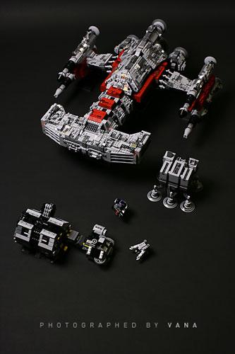 lego starcraft 2 siege tank instructions